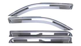 Element Chrome Window Visor In Channel 480071