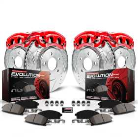 Z23 Evolution Sport Performance 1-Click Brake Kit w/Powder Coated Calipers