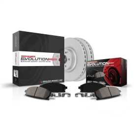 Z23 Evolution Sport Brake Kit with Genuine Geomet® Coated Rotors And Z23 Carbon Fiber Ceramic Brake Pads