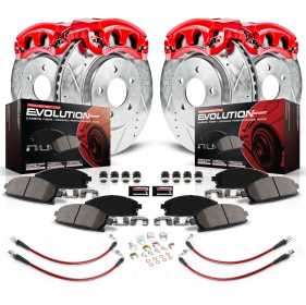 Z23 Evolution Sport Performance 1-Click Brake Kit w/Calipers And Hoses