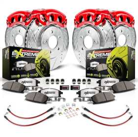 Z26 Extreme Street Warrior 1-Click Brake Kit w/Calipers And Hoses