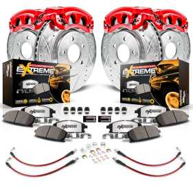 Z36 Extreme Performance Truck And Tow 1-Click Brake Kit w/Calipers And Hoses