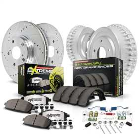 Z26 Street Warrior 1-Click Brake Pad/Rotor/Drum And Shoe Kit