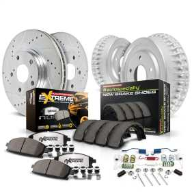 Z36 Severe-Duty 1-Click Brake Pad/Rotor/Drum And Shoe Kit