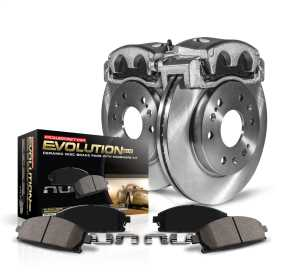 Autospecialty By Power Stop 1-Click OE Replacement Brake Kit w/Calipers