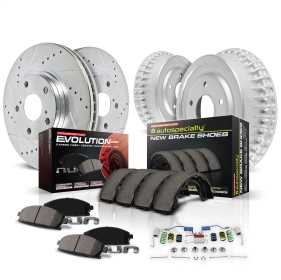 Z23 Evolution Sport Performance 1-Click Pad/Rotor/Drum And Shoe Kit