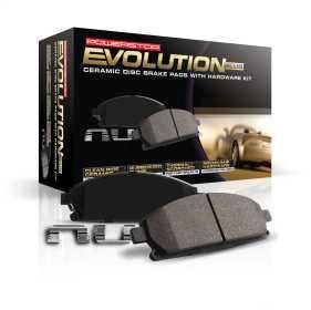 Z17 Evolution Plus Premium Ceramic Brake Pads w/Hardware