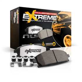 Z36 Extreme Severe Duty Truck And Tow Brake Pads w/Hardware
