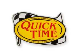 QuickTime Contingency Decal