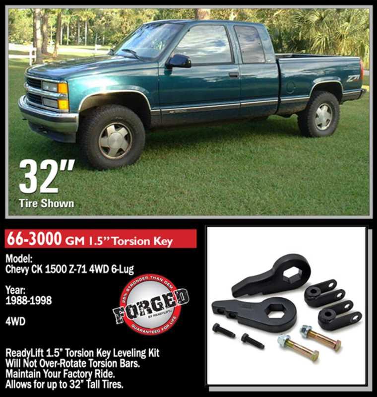 Front Leveling Kit 66-3000