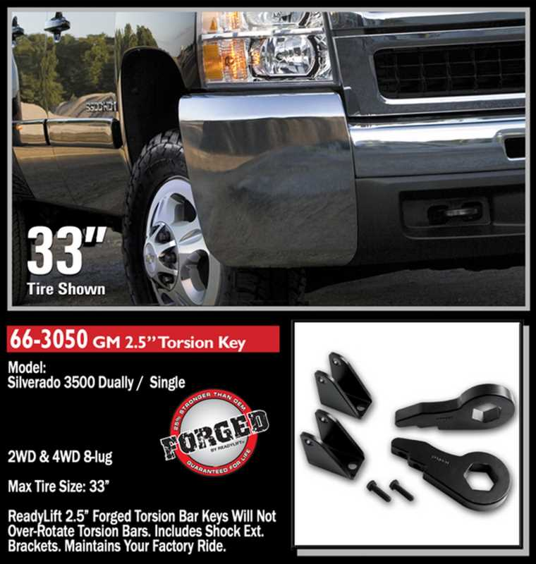 Front Leveling Kit 66-3050
