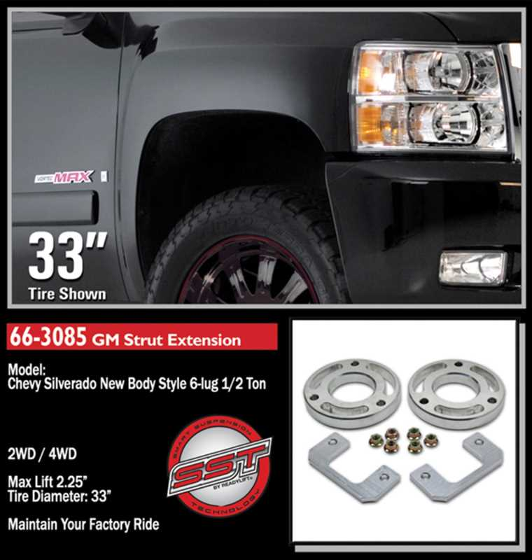 Front Leveling Kit 66-3085
