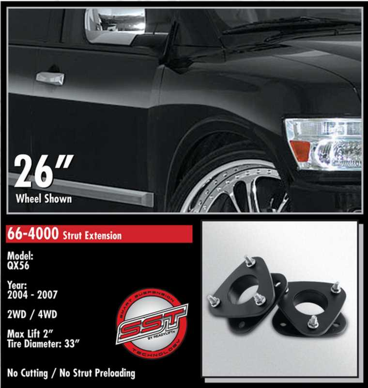 Front Leveling Kit 66-4000