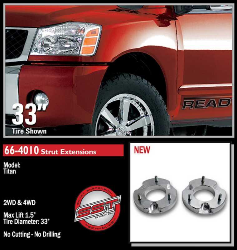 Front Leveling Kit 66-4010