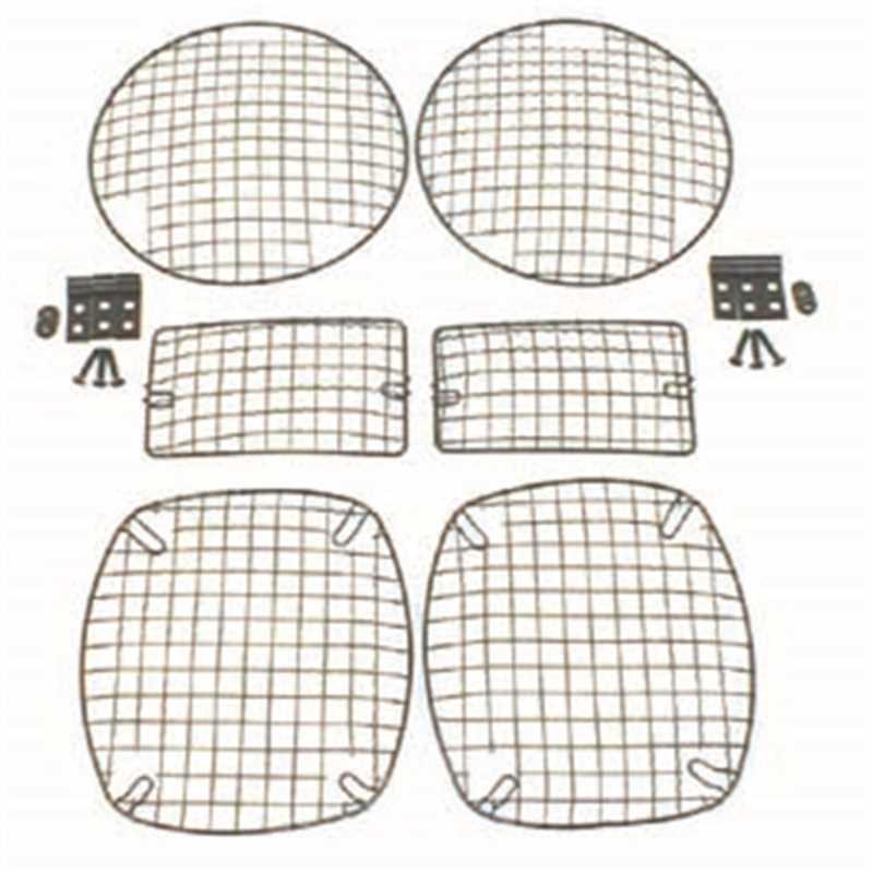 Stone Guard Kit Head Light Protectors 11236.01
