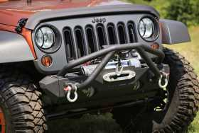 Double X Striker Winch Guard