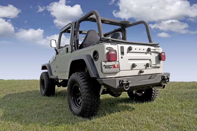 Xtreme Heavy Duty Rear Bumper 11546.10