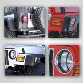Euro Guard Kit Offroad/Racing Lamp Guard
