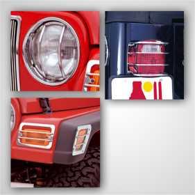 Euro Guard Kit Offroad/Racing Lamp Guard 12495.04