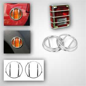 Euro Guard Kit Offroad/Racing Lamp Guard 12496.08