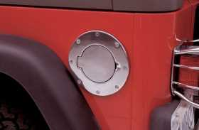 Billet Style Fuel Door Cover