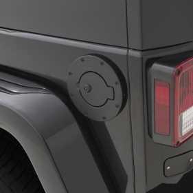 Billet Style Fuel Door Cover 750138