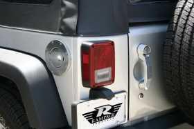Billet Style Fuel Door Cover 85000