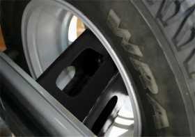 Tailgate Tire Extender