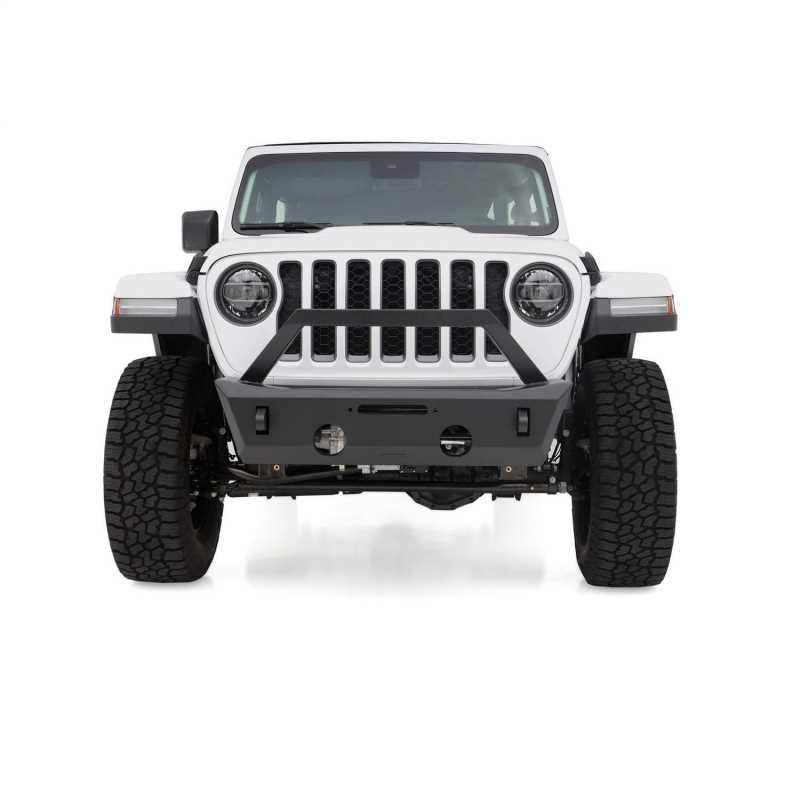 Aluminum Stubby Front Bumper 99514