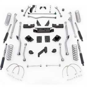 Extreme Duty Radius Long Arm Kit w/Shocks JKRR24M