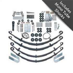 Extreme Duty Suspension Lift Kit w/Shocks