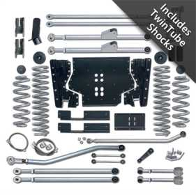 Extreme Duty Suspension Lift Kit w/Shocks RE7224T