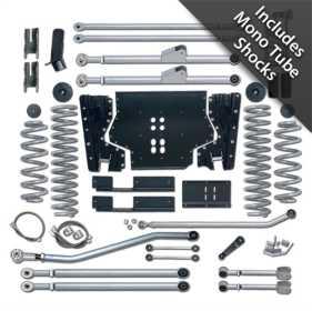 Extreme Duty Suspension Lift Kit w/Shocks RE7225M