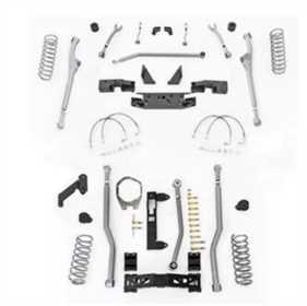 Extreme Duty Radius Long Arm Kit w/Shocks JKR343M