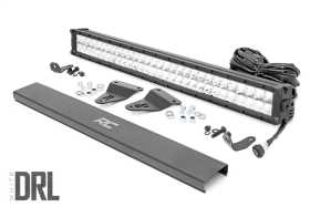 Hidden Bumper Chrome Series LED Light Bar Kit