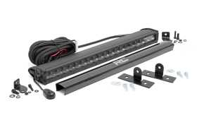 LED Light Bar Hood Mounting Brackets