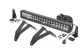 Hidden Bumper Black Series LED Light Bar Kit 70779