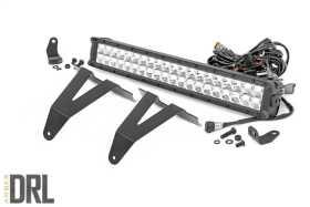 Hidden Bumper Chrome Series LED Light Bar Kit 70781