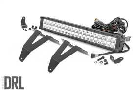 Hidden Bumper Chrome Series LED Light Bar Kit 70780
