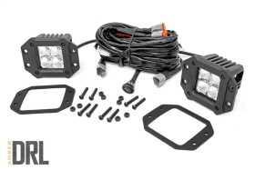 Chrome Series Cree LED Fog Light Kit