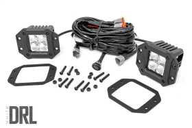 Chrome Series Cree LED Fog Light Kit