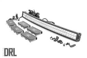 Cree Chrome Series Curved LED Light Bar 72940DRL