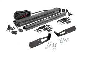 LED Light Bar Bumper Mounting Brackets