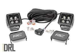 Black Series Cree LED Fog Light Kit 70903BLKDRLA