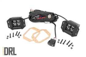 Black Series Cree LED Fog Light Kit 70803BLKDRLA
