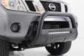 Black Bull Bar w/ Integrated Black Series 20-inch LED Light Bar B-N4150
