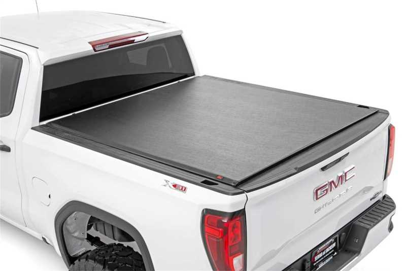 Rough Country Soft Roll Up Bed Cover 48120580 Motorwise Performance Parts