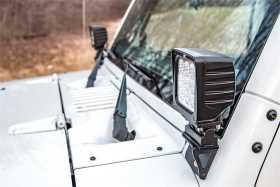 LED Windshield Light Mounts 6004