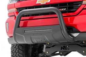 Black Bull Bar w/ Integrated Black Series 20-inch LED Light Bar B-T4051