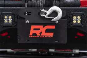License Plate Mount RS124